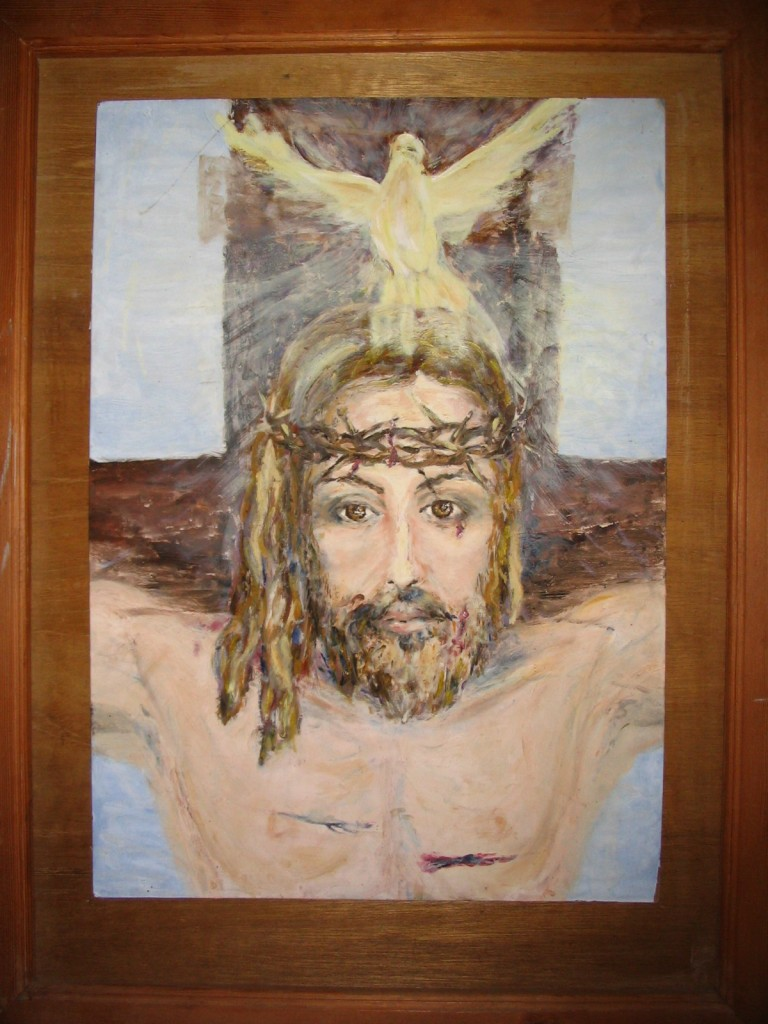 My painting of Jesus